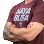 t-shirt-hayabusa-casual-logo-rouge