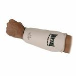 proteges-avant-bras-metal-boxe-blanc