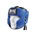 casque-metal-boxe-bleu