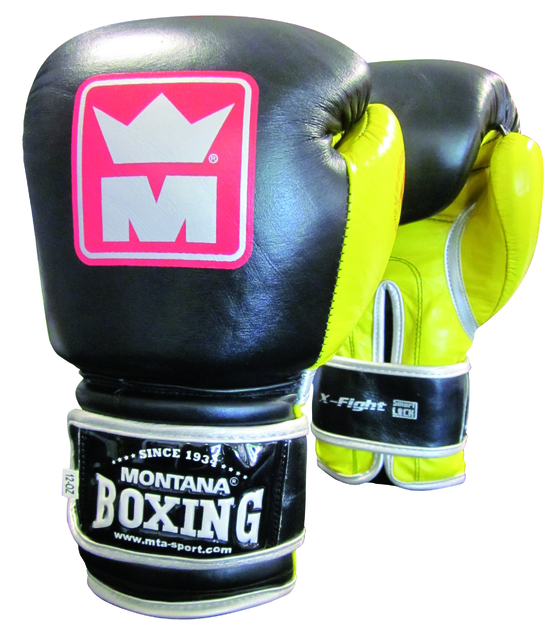gants de boxe montana x fight lecoinduring. Black Bedroom Furniture Sets. Home Design Ideas