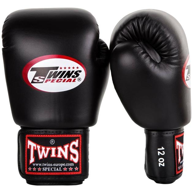 gants de boxe twins noir gants de boxe mma gants de. Black Bedroom Furniture Sets. Home Design Ideas