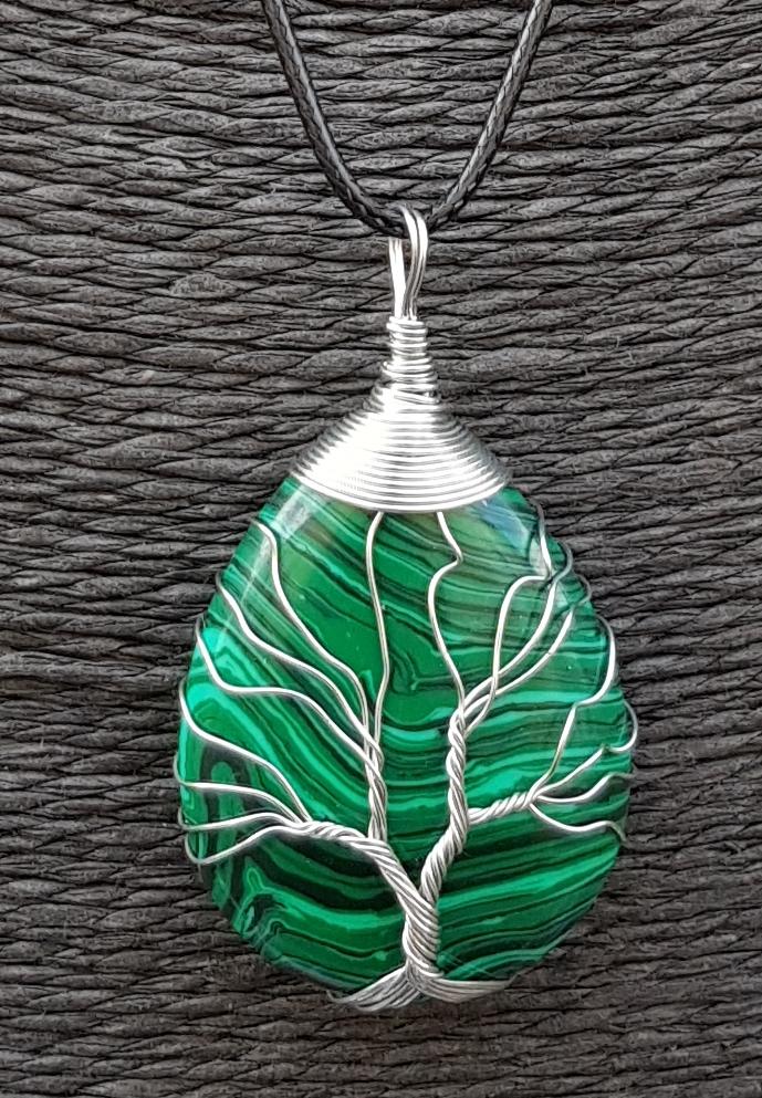 arbre de vie malachite