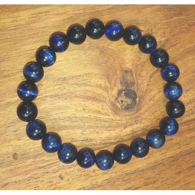 Bracelet oeil de faucon bleu