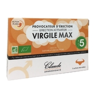 Aphrodisiaque VIRGILEMAX (Lot de 5) Provocateur d'érection