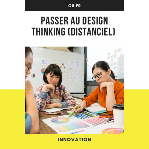 Passer au design thinking (Distanciel)