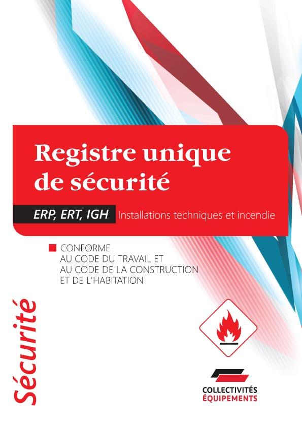 Registre De Securite Incendie Pour Erp Documents Et Formulaires