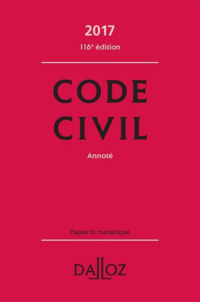 Code Civil Français 2017 Dalloz [Complet]