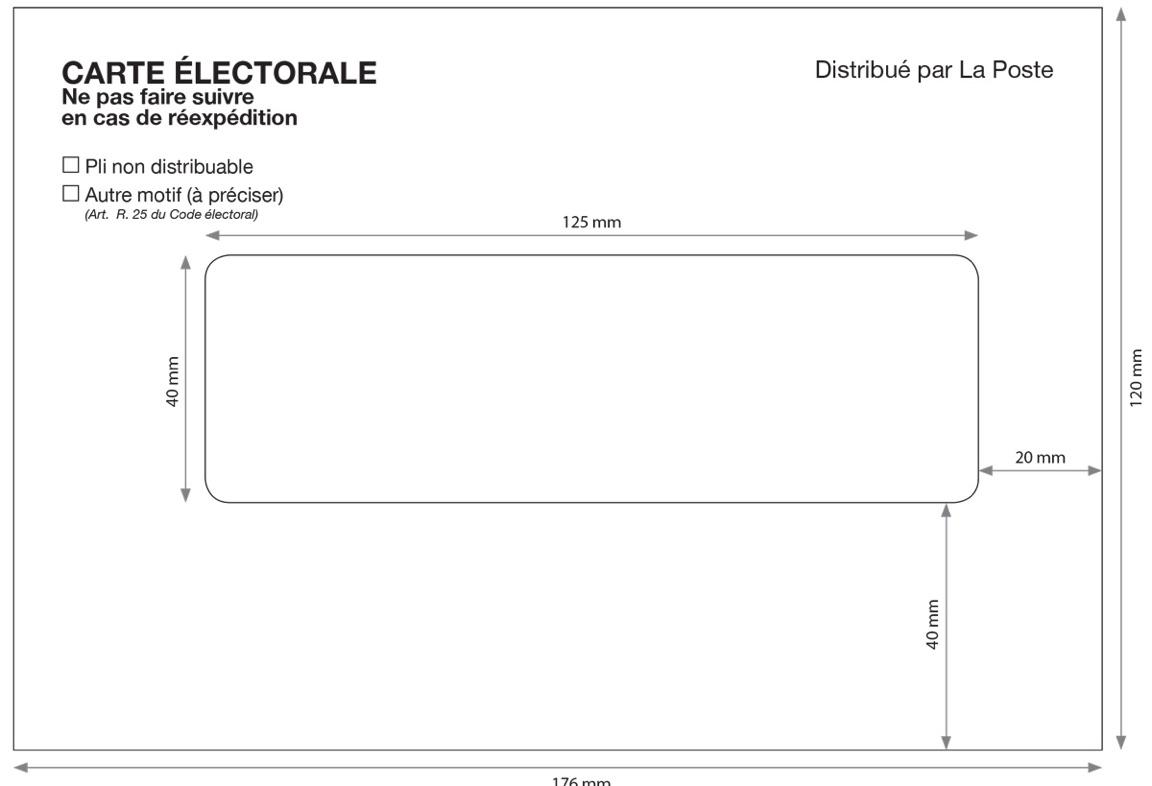 Enveloppes Pour Cartes électorales Matériel De Vote