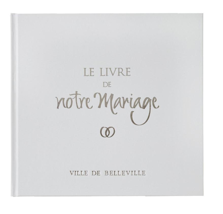 Le livre d or de notre mariage connect avec couverture for Le livre de mariage