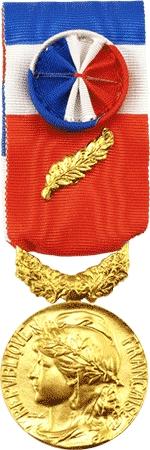 Medaille D Argent D Honneur Regionale Departementale Et Communale