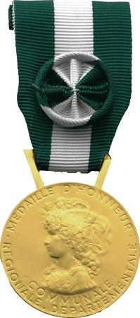 Medaille D Or 35 Ans D Honneur Regionale Departementale Et Communale