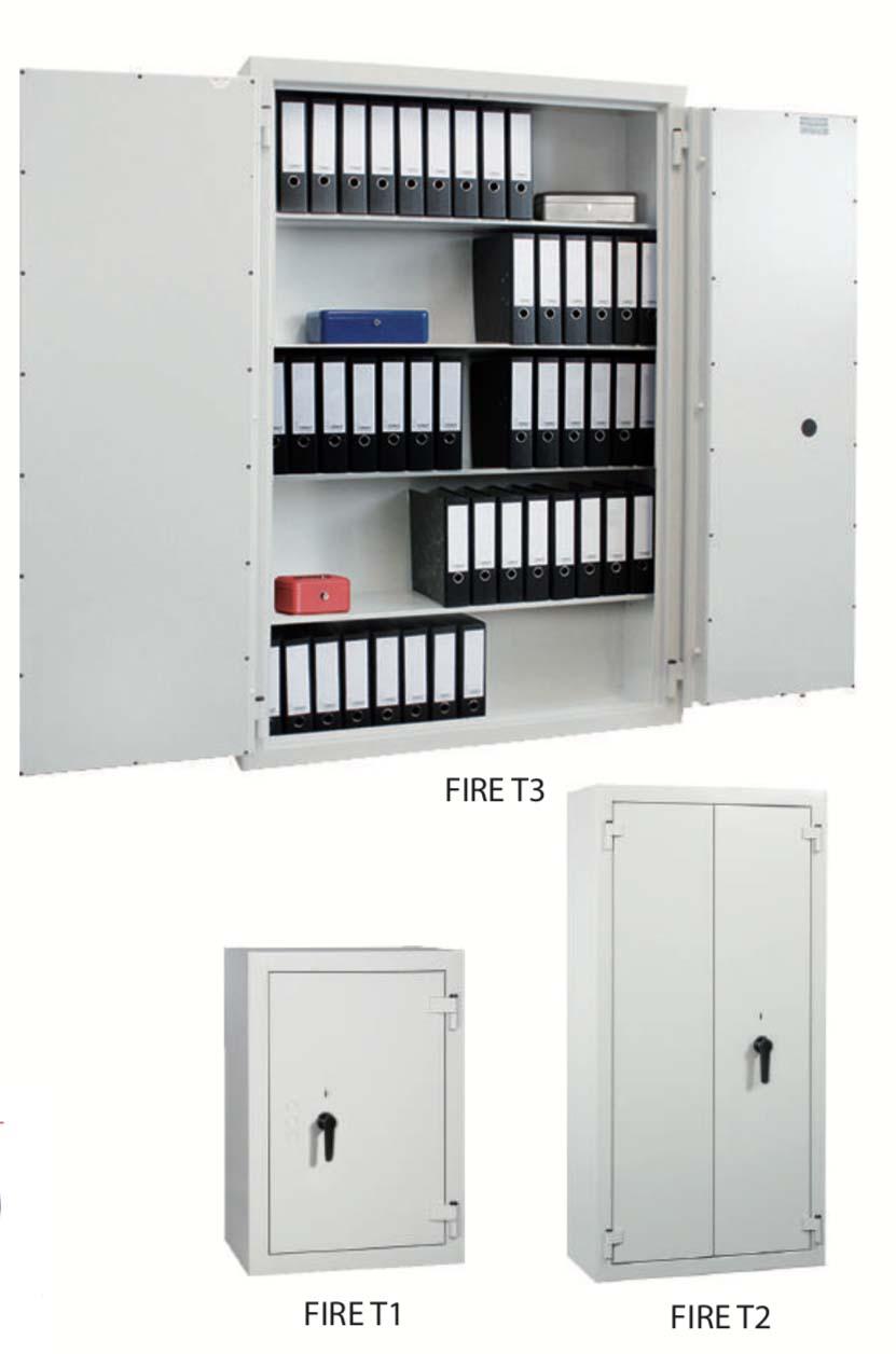 Armoire Anti Feu 90 Min Semi Automatique A Etageres Axess Industries