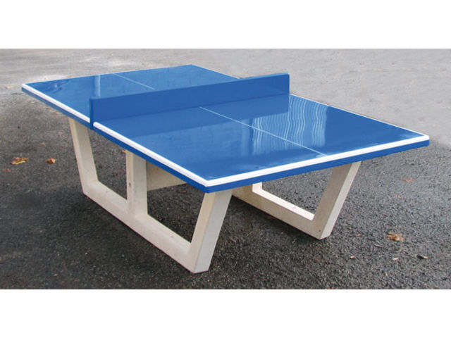30f2265db72351 Table Ping-Pong en béton armé anti-vandalisme - Mobilier Urbain