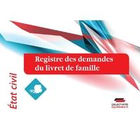 Registre des demandes du livret de famille