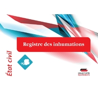 Registre des inhumations