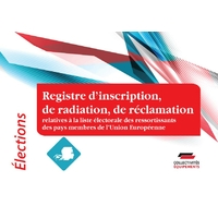 Registre de demandes d'inscription ou de radiation