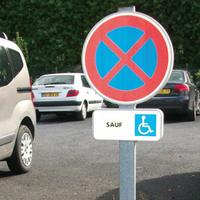 Kit stationnement pour handicapés