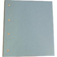 Reliure provisoire bleu