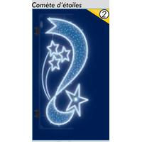 Décoration de Noël Comète d'étoiles