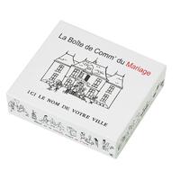 La boîte de jeu des mariés