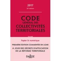 Code Général des Collectivités Territoriales DALLOZ