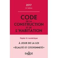 Code de la Construction et de l'Habitation DALLOZ
