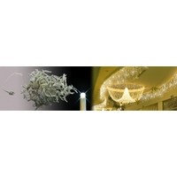 Frise stalactite blanc chaud fixe 4,5X0,57m