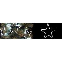 Suspension étoile led blanc pur