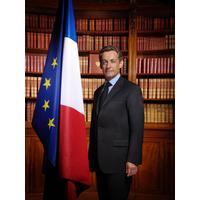 Portrait officiel du Président Nicolas Sarkozy