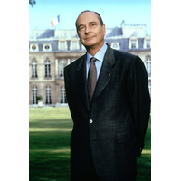 Portrait officiel du Président Jacques Chirac