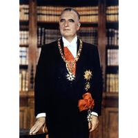 Portrait officiel du Président Georges Pompidou