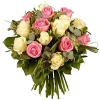 Bouquet de roses BADINAGE