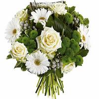 Bouquet de fleurs NEIGE