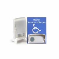 Carillon d'appel pour rampe d'accès amovible