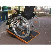 Rampe d'accès mobile pliable Shop Ramp