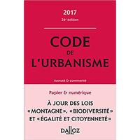 Code de l'Urbanisme DALLOZ