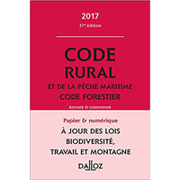 Code Rural et de la pêche maritime - Code Forestier DALLOZ