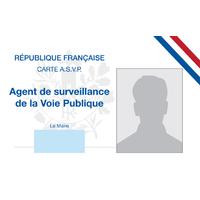 Carte d'identité d'ASVP