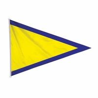 Triangle 50 x 75 cm du code marine substitut