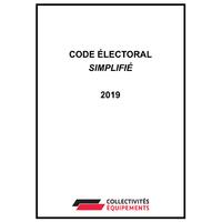 Code électoral simplifié - 2019