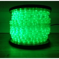 Cordon lumineux LED vert 50m