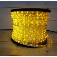 Cordon lumineux LED jaune 50m