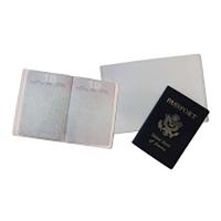 Lot de 5 pochettes pour reçus des pièces d'identité