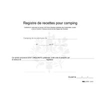 Carnet des recettes pour camping