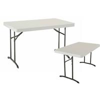 Table pliante rectangle polyéthylène - Longueur 122 cm