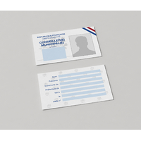 Carte d'identité de Conseiller Municipal