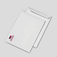 Pochettes B4 blanches 90 g personnalisées en quadrichromie