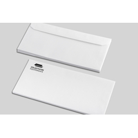 Enveloppes DL 100 g personnalisées en noir