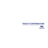 """Recharge pour classeur urbanisme """"TAXES"""""""