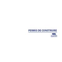 """Recharge pour classeur urbanisme """"PC"""""""